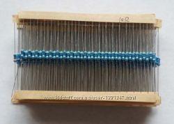 Резисторы проволочные набор 600шт 30 номиналов 0, 25Вт