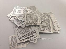 BGA шаблоны трафареты 41 шт нагрев для реболлинга под AMD ATI