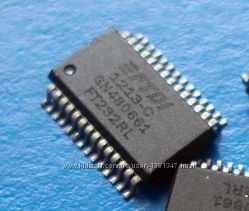 Чип FT232RL FT232 SSOP28 FTDI USB-UART