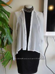 Ассиметричная  блузка оригинального кроя, бренд  Lustre, Оригинал, Англия