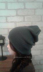 Спортивная вязанная шапка бини