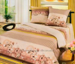 Комплекты постельного белья 2сп бязь без шва