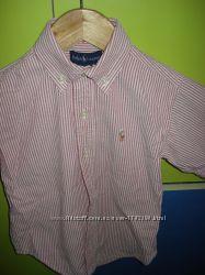 Рубашка с длинным, коротким рукавом H&M RALPH LAUREN на мальчика, 3-6 лет