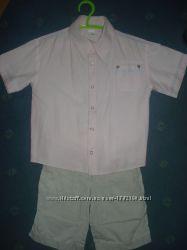 Рубашка с коротким рукавом шведка футболка RALPH LAUREN и GAP мальч 3, 4, 5