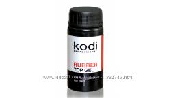 Закрепитель гель лака Коди Топ Kodi Rubber Top 7, 12, 14, 30 мл