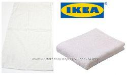 ІКЕА. Мягкое белое полотенце. Нектен.