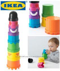 Розвиваючі іграшки ІКЕА, низькі ціни. Пірамідка