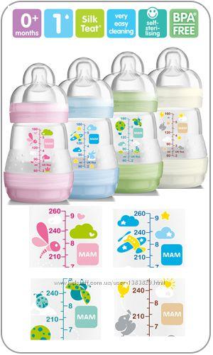 Бутылочка антиколиковая MAM Baby Anti-Colic 160 мл.