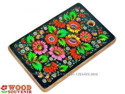 Доски разделочные деревянные с полноцветным рисунком