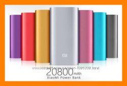 Аккумулятор внешний Power Bank Xiaomi Mi 20800 mAh  USB-кабель