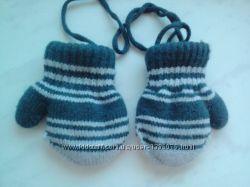 Варежки рукавички для дитинки для мальчика или девочки
