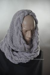 Шарф-снуд, снуд, шарф ручная работа