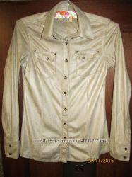 Рубашка Pull & Bear, Zara женская р. S