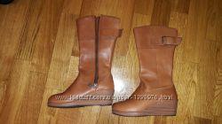 Crocs 35 р. кожаные сапоги оригинал