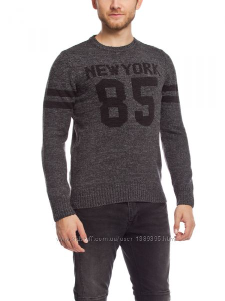 Теплый мужской свитер на зиму серый размер XL от LC Waikiki Турция