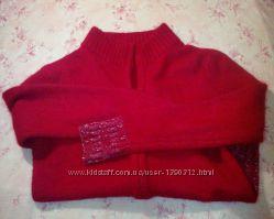 Кардиган свитерок натуральная шерсть размер S