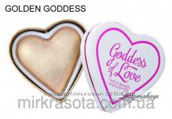 Хайлайтер I Heart Makeup Blushing Hearts Goddess Of Love Revolution Makeup