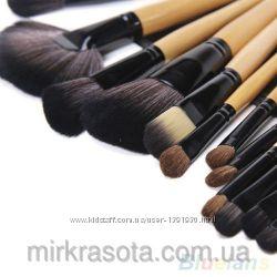Профессиональные кисти для макияжа 24 шт