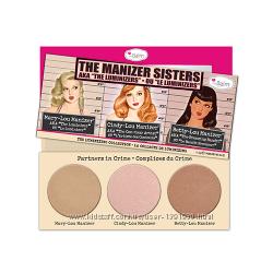 Набор Хайлайтеров theBalm The Manizers Sisters AKA the Luminizers