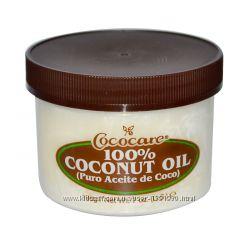 Кокосовое масло первого отжима 110 гр Cococare, 100
