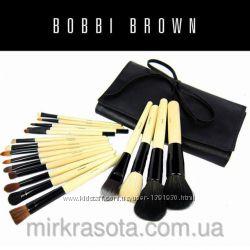 Набор кистей для макияжа Bobbi Brown 18 шт профессиональный