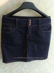 Юбка, юбочка классная джинсовая женская