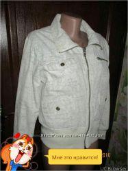 Демисезонная куртка оригинальный принт М.