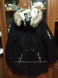 Зимняя куртка для девушки H&M размер 44, 40