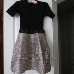 Платье комбинированного состава
