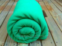 Полотенце микрофибра банное пляжное синее зеленое коричневое