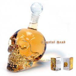 Графин череп 700мл стакан рюмка череп