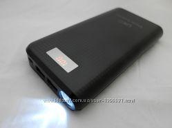 UKC Power Bank Smart 30800mAh портативное зарядное устройство, фонарь