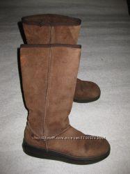 кожаные зимние сапоги угги, 25, 5 см стелька, Rocketdog