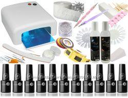Стартовой набор для гель-лака  UV лампа 36 W