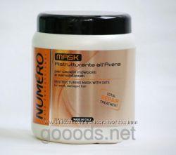 Восстанавливающая крем маска для волос, с овсом Brelil Numero 1л