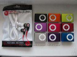 MP3 плеер  кабель USB  наушники Ipod shuffle  новые вакуумные уши