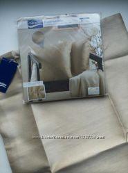 Новые шикарные наволочки 2 шт золотистого цвета на декоративные подушки 40х