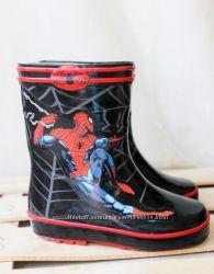 Детские резиновые сапоги Человек-паук 24 р