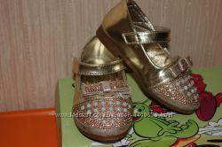 Золотистые туфельки
