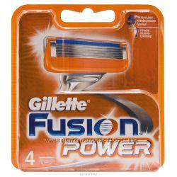 Кассеты Gillette Fusion Power, 4 шт.