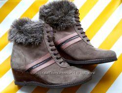 Ботиночки замшевые кожа Sei DONNA made in Italy