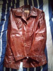 Кожаная куртка осень