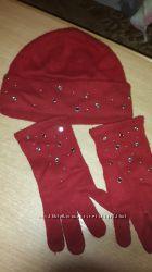 Набор из шапки и перчаток