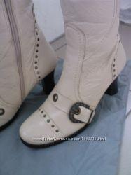 Женские ботинки лайковая кожа Натуральный мех