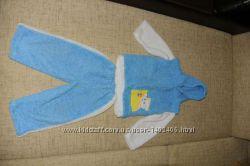 Махровый-флисовый костюм 3-ка р. 92