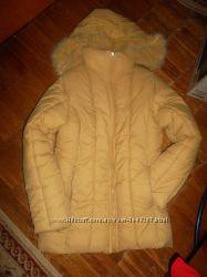 Куртка размер S, M. Наполнитель пух.