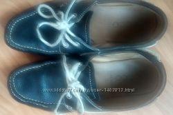 Кожаные туфли для подростка ECCO, 40 разм, по стельке 26 см