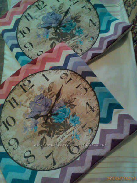 Декоративная подушка Часы 50 см х 50 см