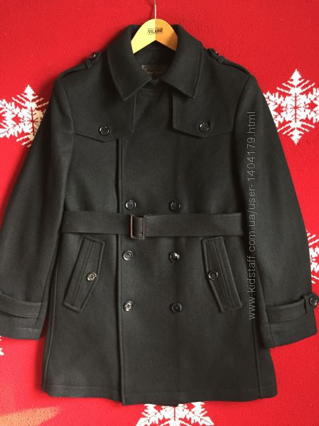 Пальто мужское Mak Gardi из шерсти