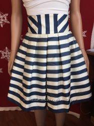 Праздничная нарядная юбка Monnalisa Chiс Италия оригинал девочке 8-9 лет